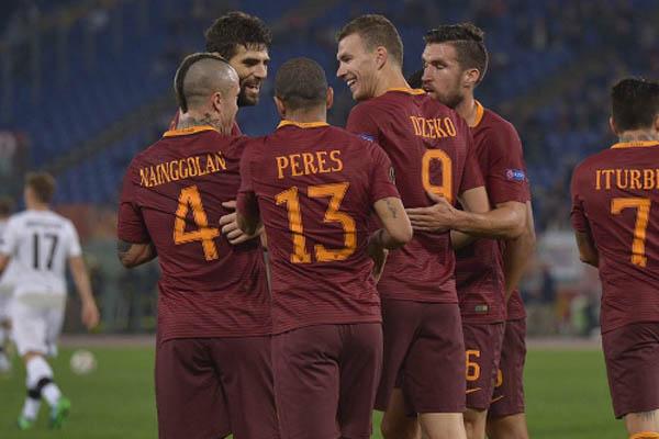 Edin Dzeko, Roma Serie A - Fonte: Roma AS official account Twitter