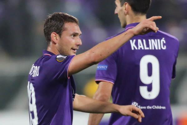 Qarabag-Fiorentina, Cristoforo - Europa League Fonte: Fiorentina Twitter Account