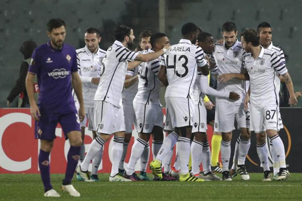 Fiorentina-Paok, Fonte: Europa League Group
