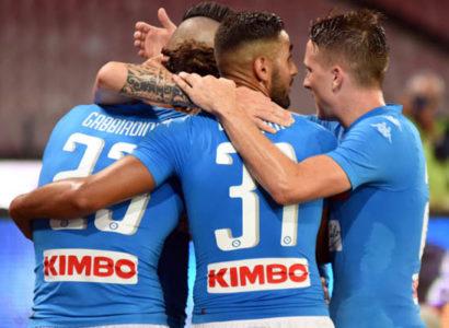 Napoli-Sassuolo - Fonte: Napoli account Twitter