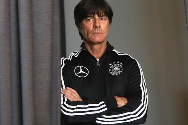 Joachim Löw, Germania - Fonte: Twitter account Die Mannschaft