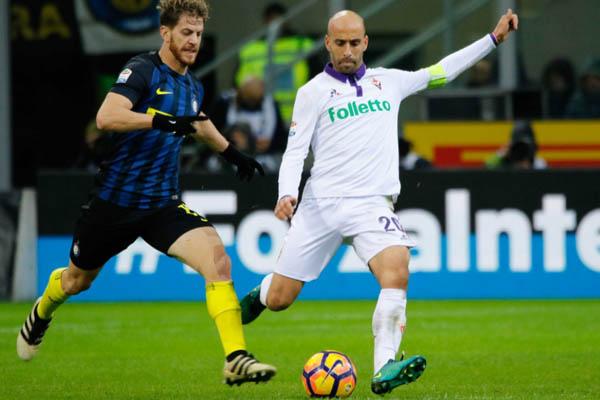 Borja Valero, Inter-Fiorentina - Fonte: ACF Fiorentina