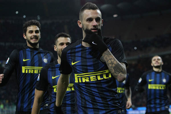 Brozovic, Inter-Fiorentina - Fonte: FC Internazionale