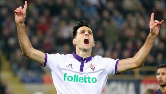 Nikola Kalinic, Fiorentina-Slovan Liberec - Europa League