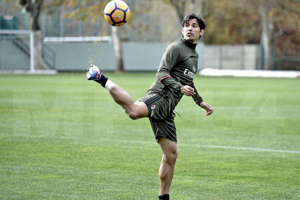 Mati Fernandez, Milan - Serie A 2016/17 fonte: Account Twitter Milan