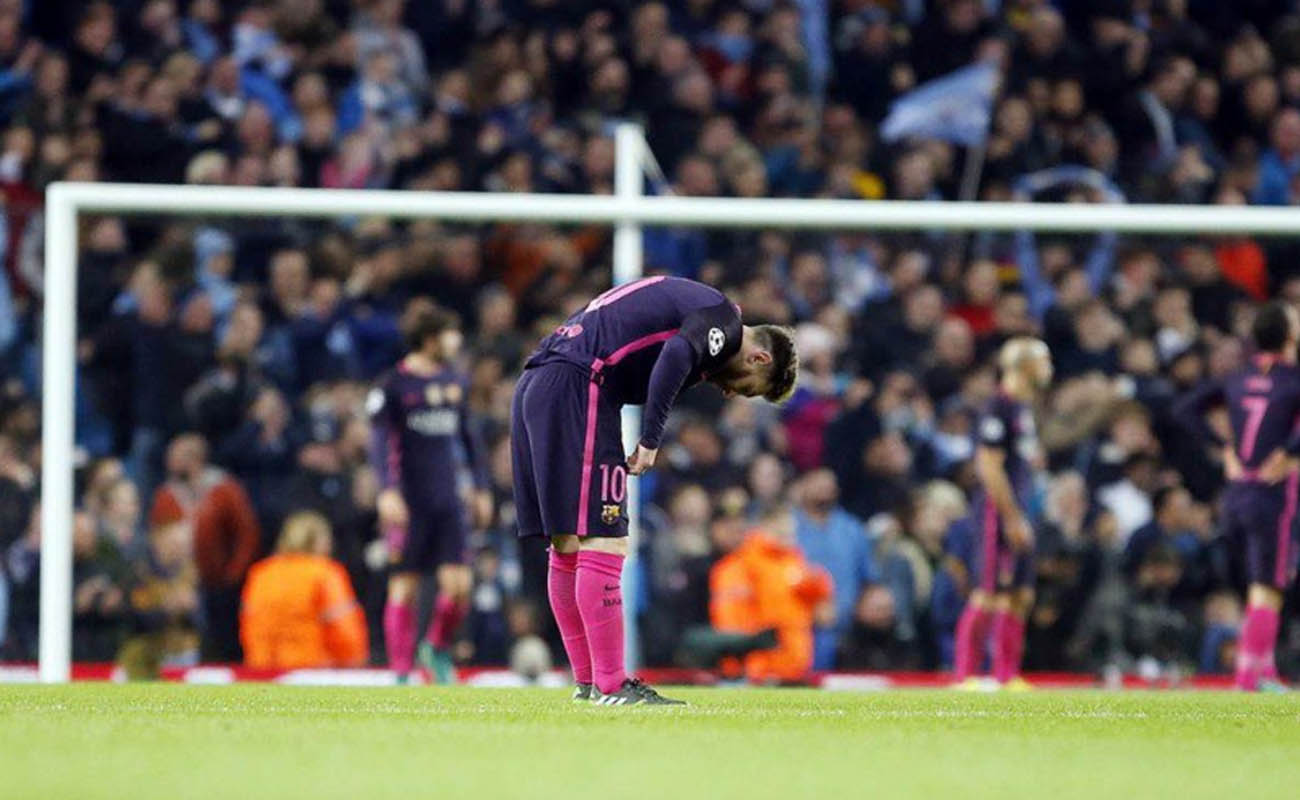 Lionel Messi, Manchester City-Barcellona - Champions League, Fonte: Barcellona Twitter