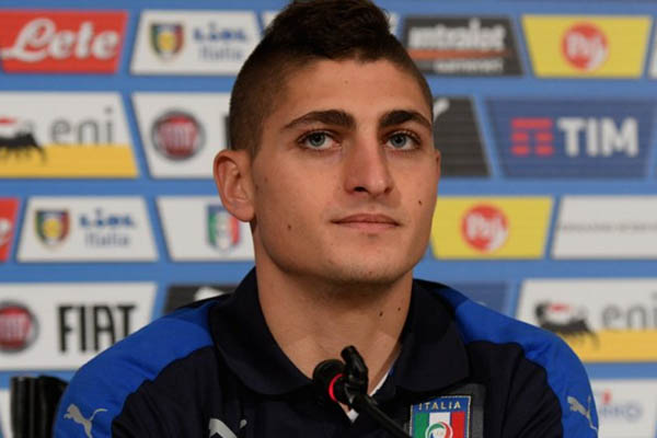 Marco Verratti, Liechtenstein-Italia - Fonte: account Twitter Nazionale Italiana