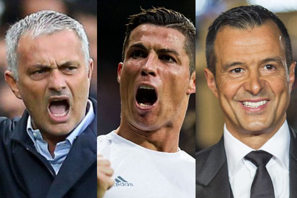 Inchiesta Football Leaks: Ronaldo, Mendes e Mourinho