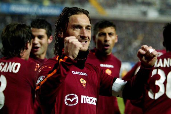 Francesco Totti, Roma-Villareal 2003/04