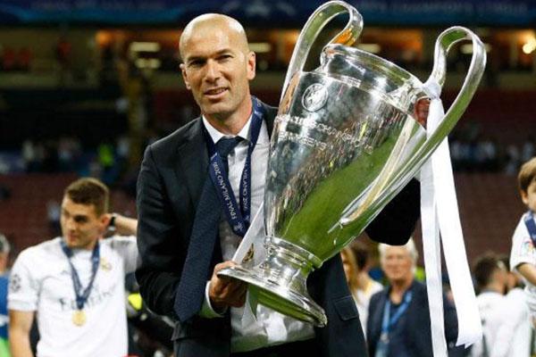 Zinedine Zidane, tecnico del Real Madrid