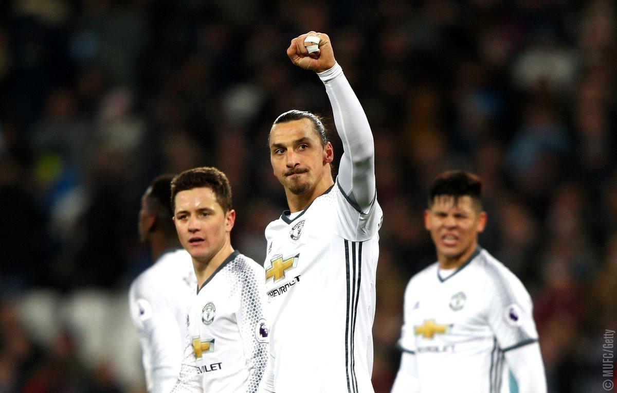 West Ham-Manchester United, Ibrahimovic