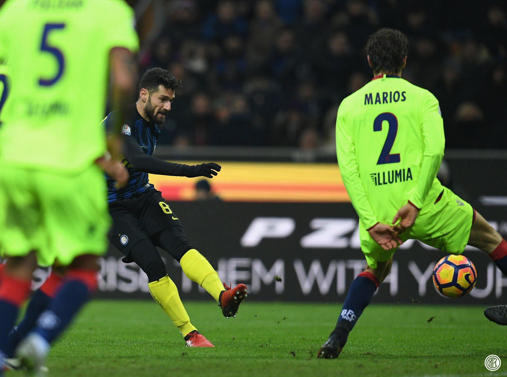 Candreva Inter Bologna