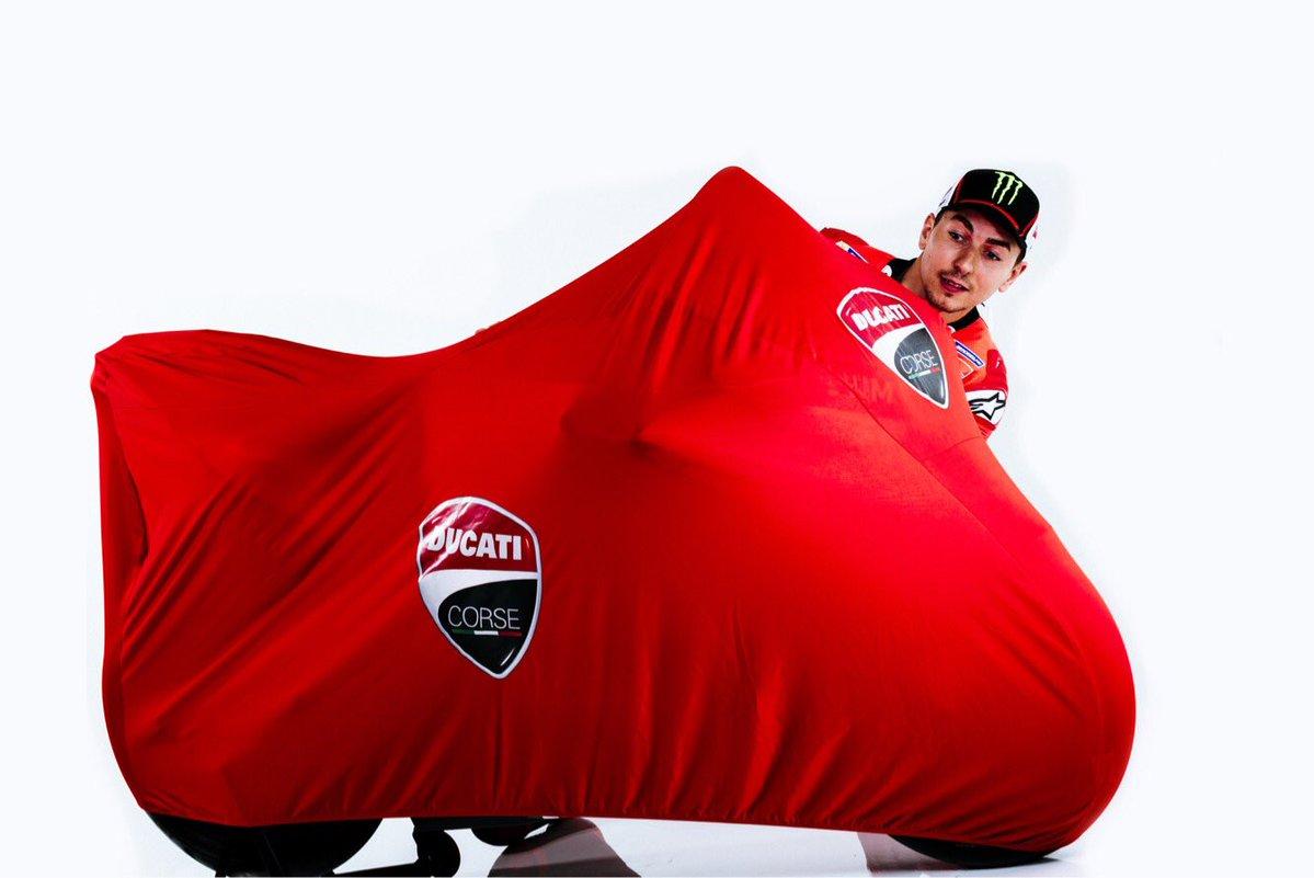 Lorenzo Ducati - Fonte: Twitter @Lorenzo99