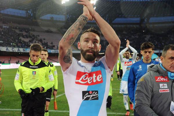 Lorenzo Tonelli, Milan-Napoli - Fonte: Napoli Twitter