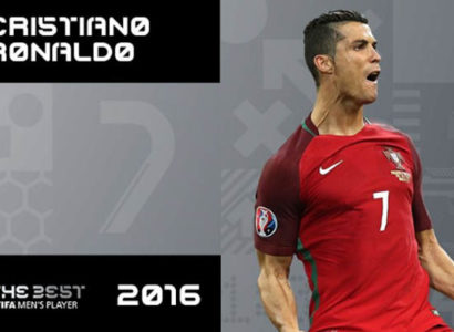 Cristiano Ronaldo, World Player of the Year - Fonte: Fifa