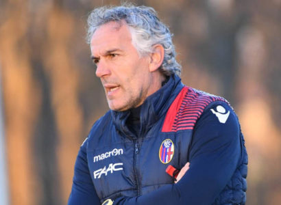 Roberto Donadoni, Crotone-Bologna - Fonte: Bologna Twitter