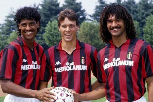 Ruud Gullit, Marco Van Basten, Milan - Fonte: Wikipedia