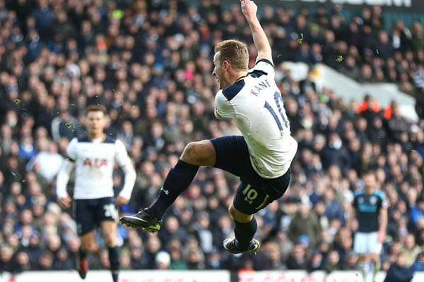 Harry Kane, Tottenham-WBA Premier League - Fonte: Tottenham Twitter