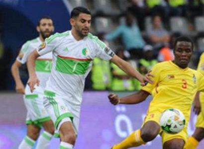 Riyad Mahrez, Algeria-Zimbabwe - Fonte: Coppa d'Africa sito web