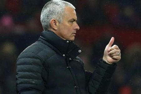 José Mourinho, Manchester United - Fonte: Manchester United Twitter