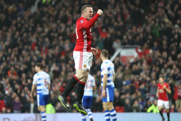 Wayne Rooney, Manchester United-Reading - Fonte: Wayne Rooney Twitter