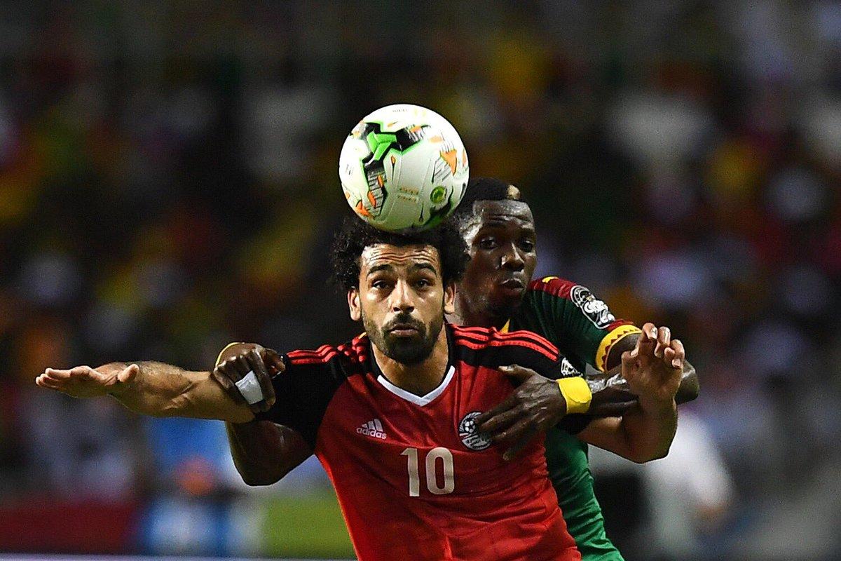 Salah Coppa d'Africa Egitto-Camerun