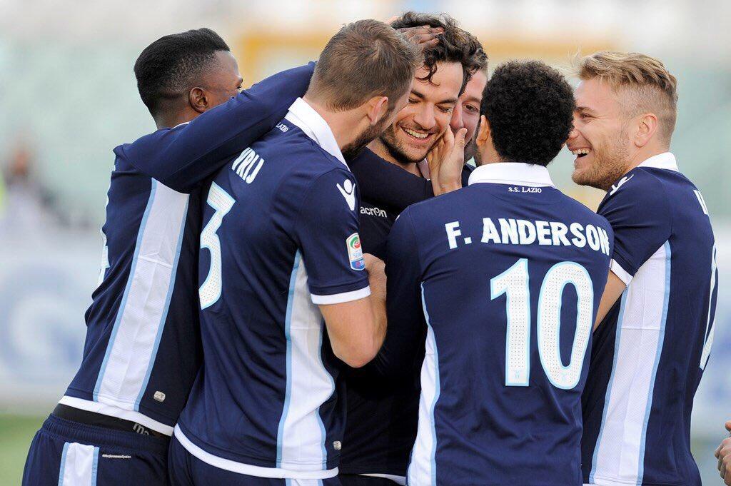 Lazio-Pescara - Fonte: Twitter @Stefandevrij
