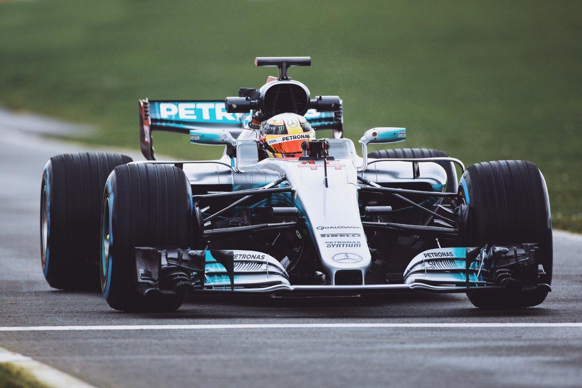 Mercedes W08 Hamilton - Fonte: Twitter @LewisHamilton