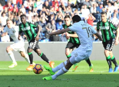 Sassuolo-Milan - Fonte: Twitter @Sport_Mediaset