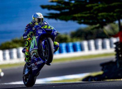 Valentino Rossi test Philip Island - Fonte: Twitter @ValeYellow46