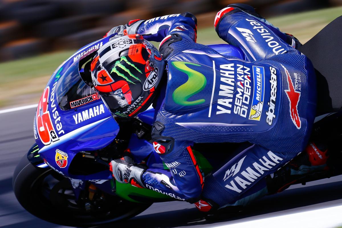 Vinales test Philip Island - Fonte: Twitter @MotoGP