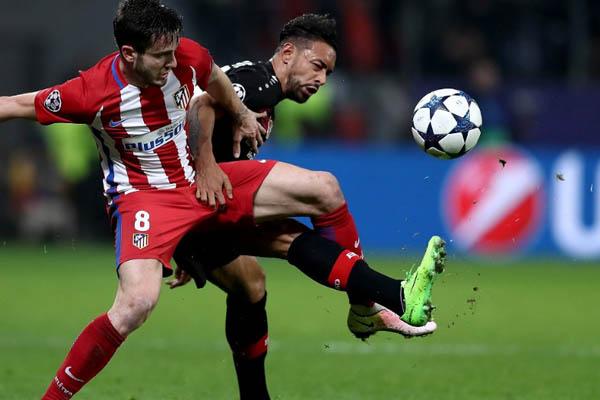 Bayer Leverkusen-Atletico Madrid - Fonte: UEFA Champions League