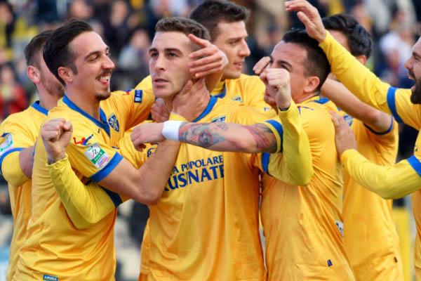Frosinone-Carpi, 25/a giornata di Serie B 2016/17 - Fonte: Frosinone Twitter
