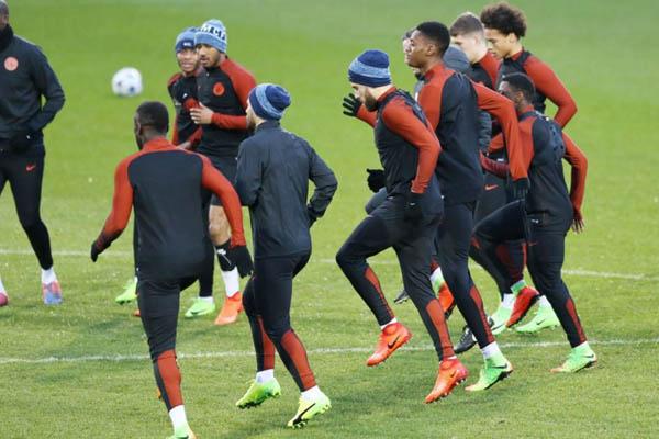 Manchester City-Monaco, formazioni ufficiali - Fonte: Manchester City Twitter