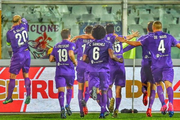 Pescara-Fiorentina, raddoppio di Tello - Fonte: Fiorentina Twitter