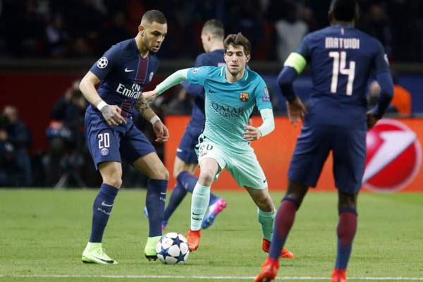 PSG-Barcellona, Champions League 2016/17