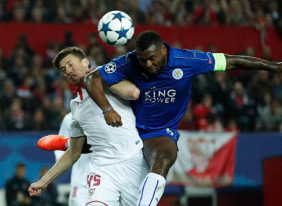 Siviglia-Leicester, Champions League - Fonte: Leicester Twitter