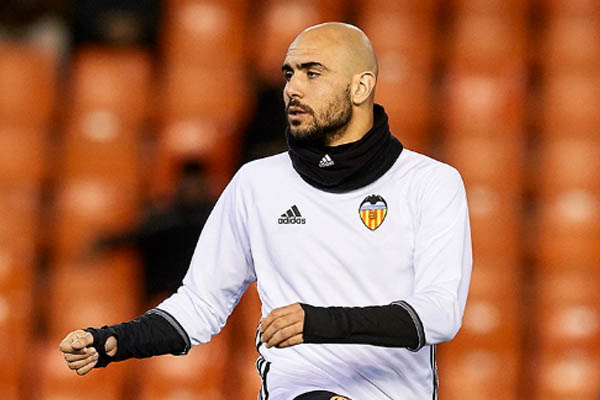 Simone Zaza, Valencia-Real Madrid - Fonte: Valencia Twitter