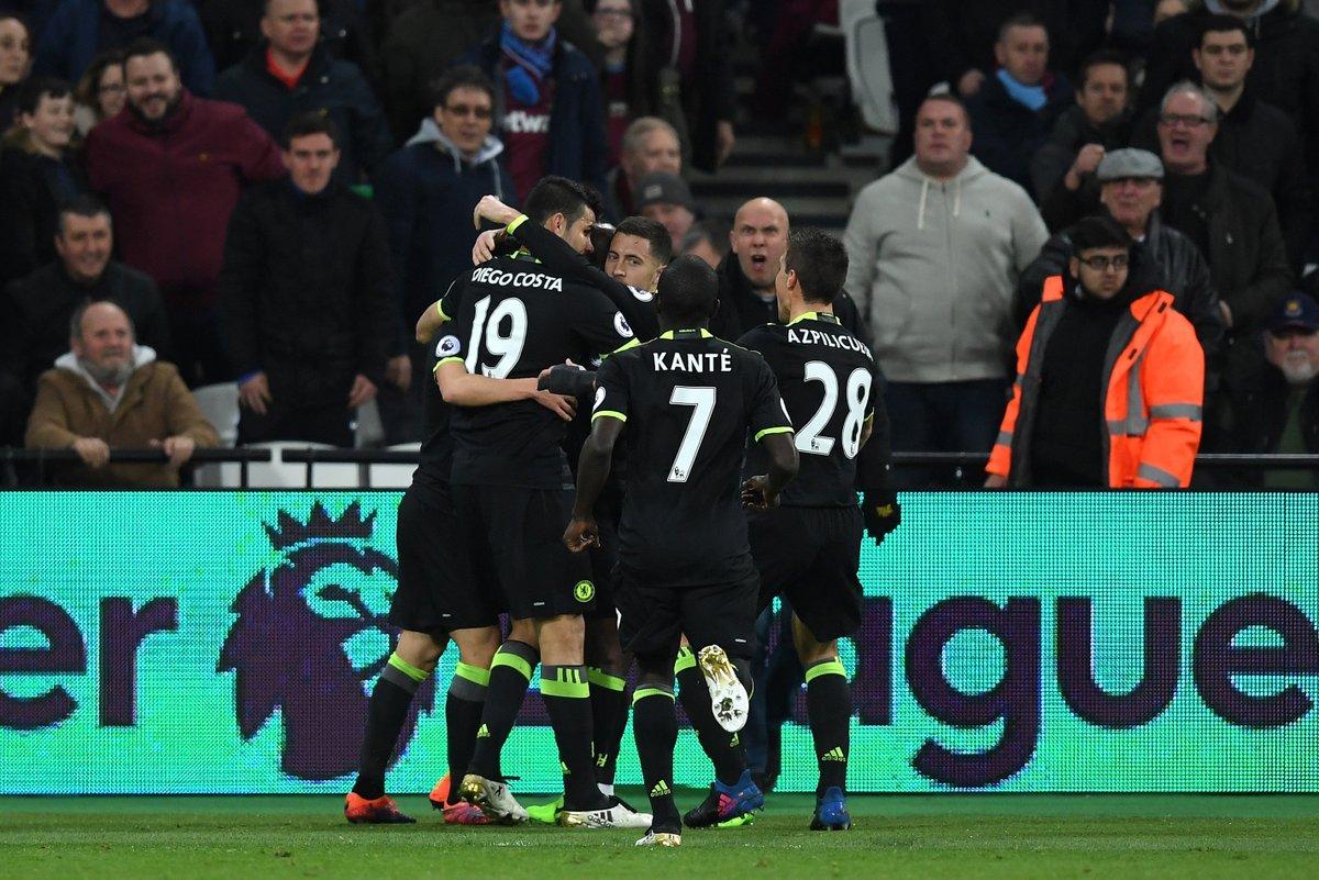 Chelsea in goal