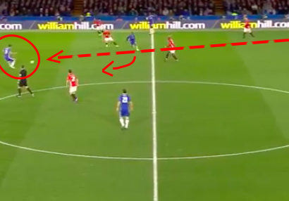 Match analysis Chelsea Manchester United