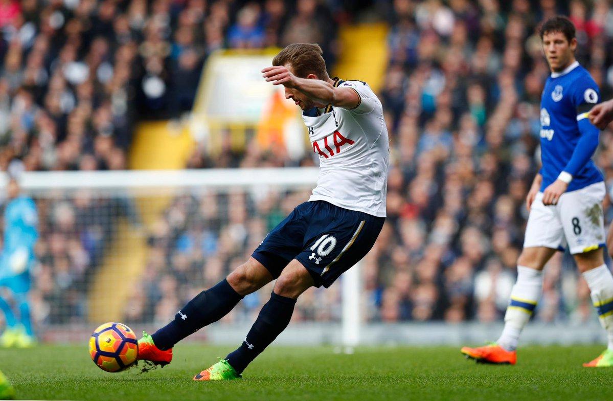 Kane Tottenham-Everton - Fonte: Twitter @premierleague
