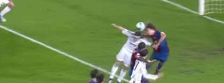 Gol Sergio Ramos contro Barcellona 2007