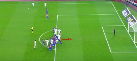 Sergio Ramos gol contro il Barcellona 2017