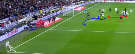 Sergio Ramos gol contro il Deportivo 2017