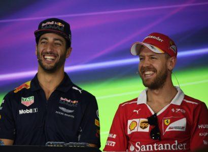 Vettel Ricciardo Australia 2017