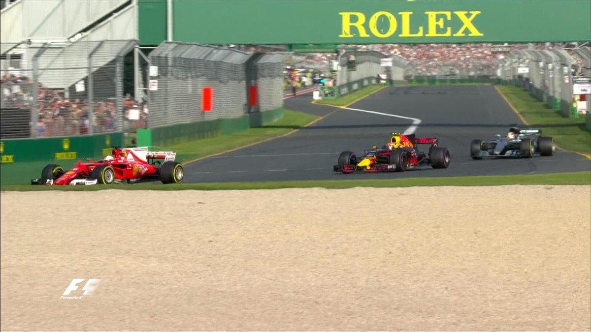 Vettel Verstappen Hamilton Australia 2017