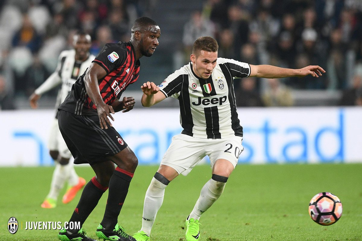 Zapata Pjaca Juventus Milan - Fonte: Twitter @juventusfc