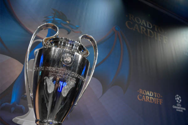 Champions League, the road to Cardiff