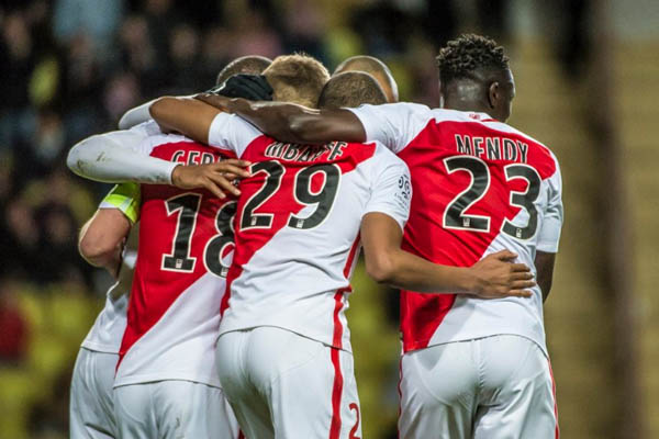Monaco-Nantes, Ligue 1 - Fonte: Monaco AS Twitter