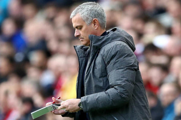 José Mourinho, Manchester United - Fonte: Manchester United Twitter